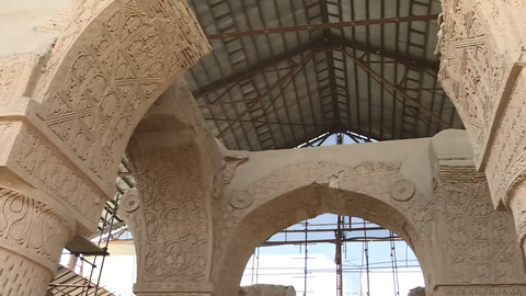 Archaeologists work to unravel secrets from Afghanistan's ancient mosque
