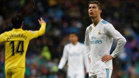 Real Madrid's misery continues with defeat to Villarreal