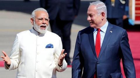Israeli PM Netanyahu arrives in India for 6-day visit