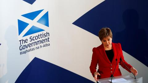 Scottish leader says no alternative to European single market
