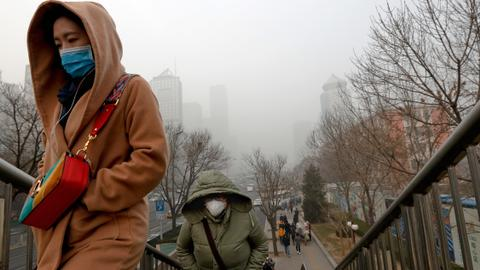 China punishes officials for tampering with air quality readings