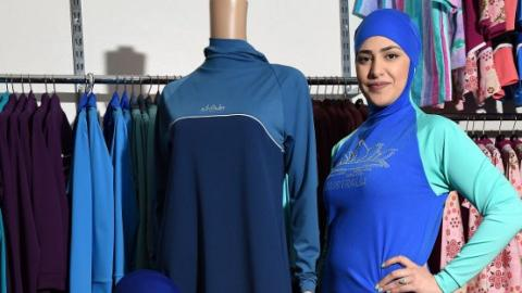 Burqini inventor says ban boosted sales by 200%
