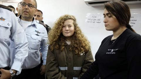 Palestinian teen in viral 'slap' video awaits bail decision