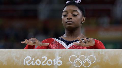 US Olympian Simone Biles claims she was sexually abused by Larry Nassar