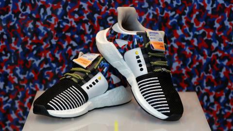 Subway-themed sports shoes are just the ticket for Berliners