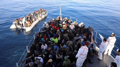 Human rights lawyers bring case against EU at ICC over migrant deaths