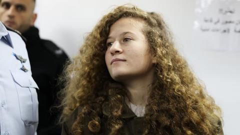 Ahed Tamimi to be held in custody throughout her trial
