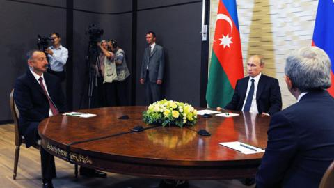 Russia, Azerbaijan, Iran pleased with Karabakh ceasefire