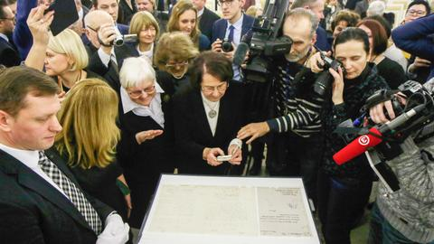Germany loans Lithuania 'birth certificate' for centennial