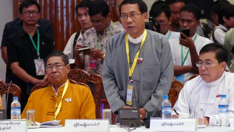 Myanmar arrests Buddhist MP after Rakhine riot