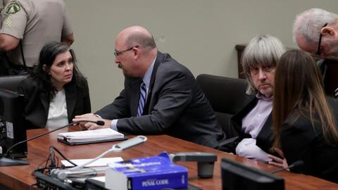 US couple who held 13 children captive, plead not guilty to torture, abuse