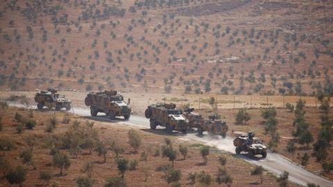 Turkish forces hit PKK/YPG in northern Syria