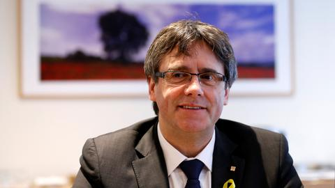 Ex-Catalan leader says he can govern from Belgium