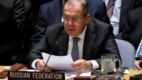 Russian FM calls US defence strategy 'confrontational'