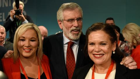 Northern Ireland's Sinn Fein to pick McDonald as new party head