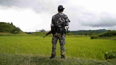 Myanmar soldiers jailed for killing civilians in rare trial