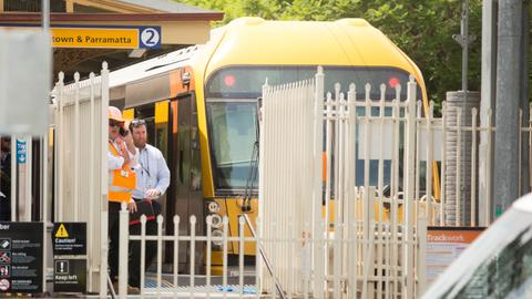 Train hits barrier in northwest Sydney hurting at least 15 people
