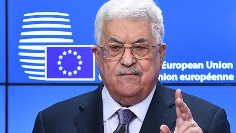 Abbas urges EU to recognise Palestinian state