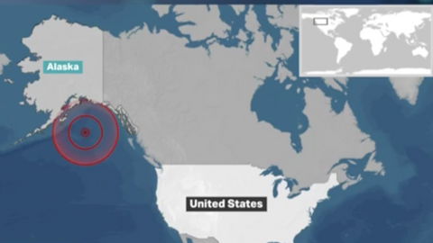Tsunami alert issued after earthquake in Alaska