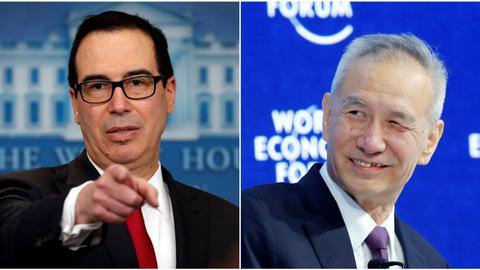 Will Davos see China trump the US?