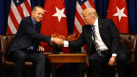 Erdogan, Trump discuss Turkey's operation in Syria's Afrin