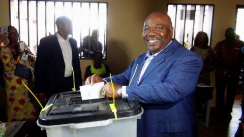 Gabon leaders both claim presidential victory