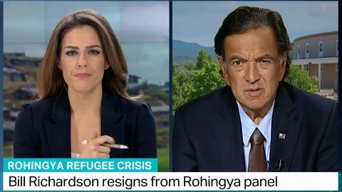 Bill Richardson says Myanmar's Suu Kyi is 'lacking moral leadership'