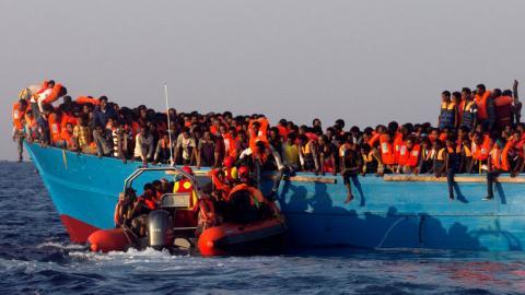 More than 6,500 migrants rescued at sea off Libyan coast