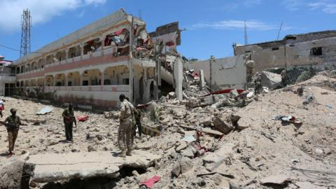 Death toll rises after car bomb attack in Somalia
