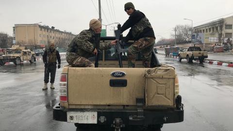 Militants attack Afghan army post near Kabul military academy