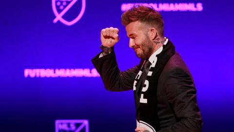 Beckham's MLS team in Miami is born