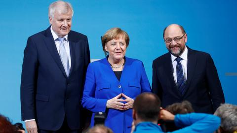 German coalition talks reach compromise on country's refugee policy