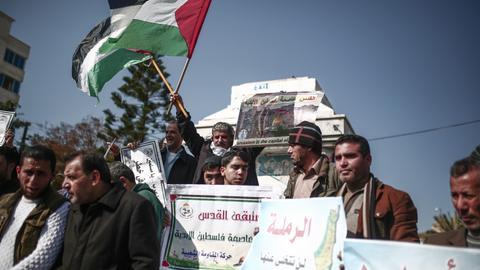 Gazans continue to protest Trump's Jerusalem decision