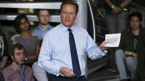 UK's Cameron admits to profiting from father's offshore fund