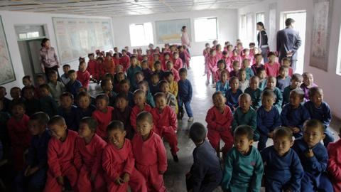 Thousands of children face starvation in North Korea