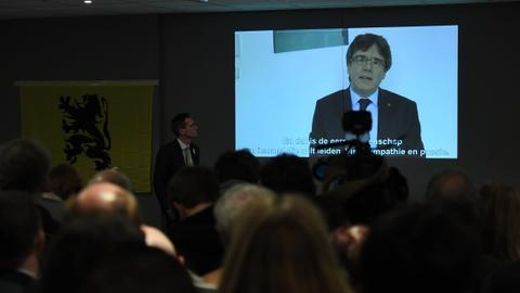 Catalonia postpones vote for new president in standoff with Madrid