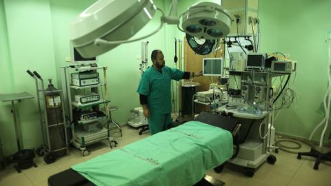 Gaza hospital suspends services due to fuel shortage