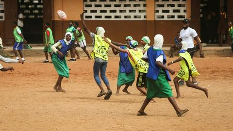 Ghana's rugby union pushes for female inclusion