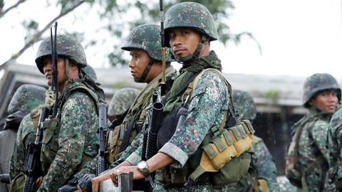 Philippine security forces capture top Maoist guerrilla leader