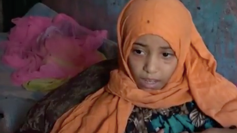 Paralysed girl becomes symbol of Yemeni child victims
