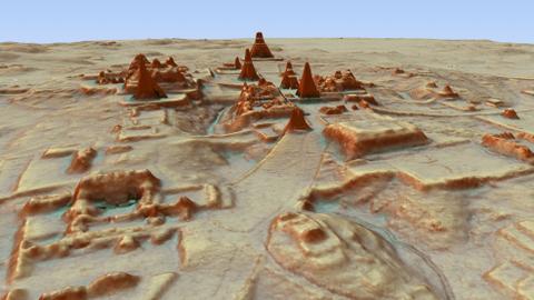 Scientists discover massive Mayan city under Guatemala jungle