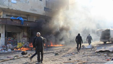 Syrian regime attacks kill 16 civilians in Idlib