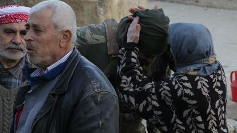 Turkish army carefully advances towards Afrin to avoid civilian casualties
