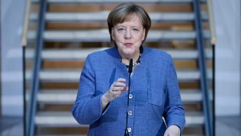 Merkel enters final stretch in coalition-building marathon