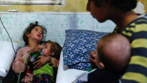 Syrian regime strikes cause civilians to suffer from