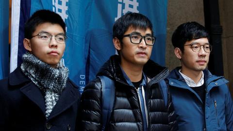Hong Kong court lets democracy activist Joshua Wong walk free