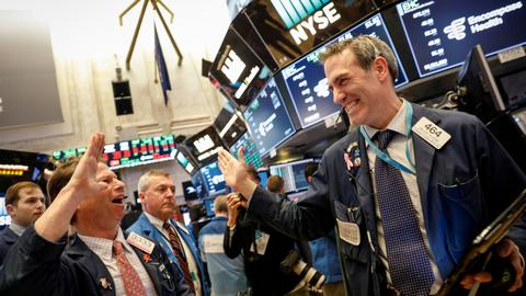 Wall Street rebounds as investors eye volatility ahead