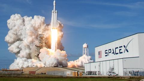 Elon Musk's Falcon Heavy rocket makes history with successful lunch