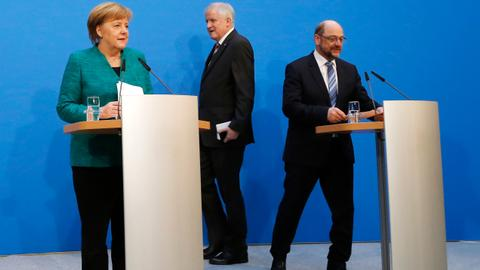 Germany's top parties reach deal on coalition