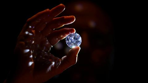 'Rarest white diamond ever' to be auctioned in London